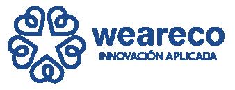 weareco consultoria innovacion estrategia community building logo horizontal aplicada